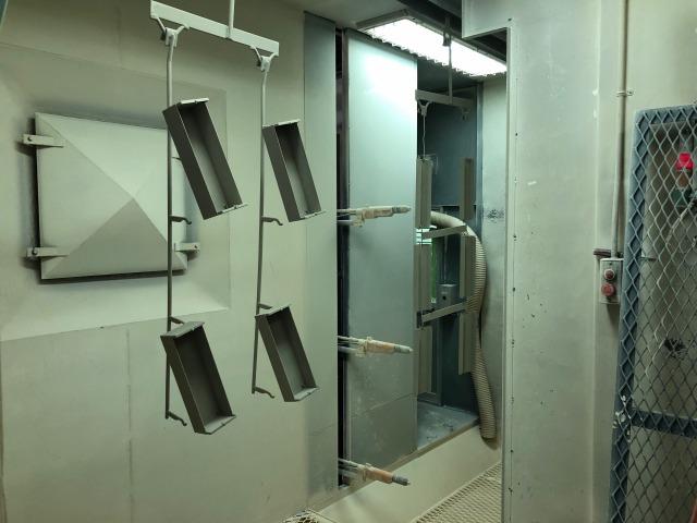 再利用を粉体の回収と高品質粉体塗装を実現する設備