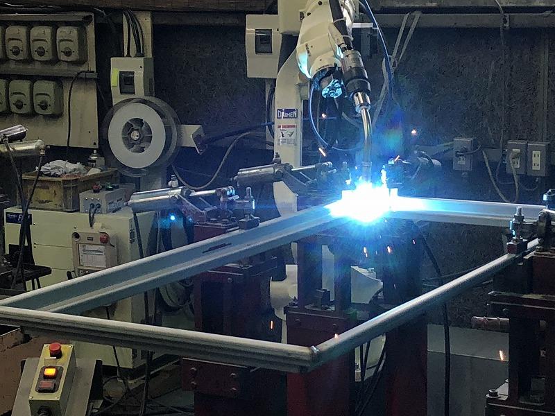 ロボット溶接による高生産性な溶接