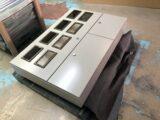 屋外用 集合計器盤(中型サイズ) 粉体塗装品